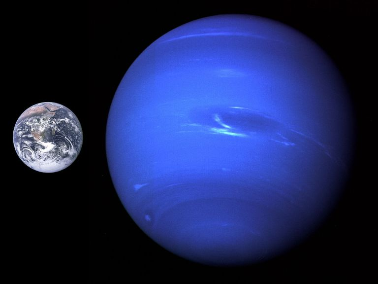 Астрономични данни за Нептун | Приятели на дъгата